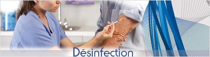 Désinfection des surfaces