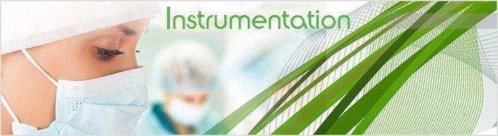 Pinces à dissection et instruments ORL