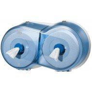 SmartOne® Mini Distributeur double pour papier toilette rouleau - T9
