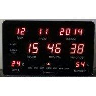 Horloge calendrier Stimled, lv médical