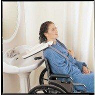 Plateau lave tête pour fauteuil roulant, lv medical