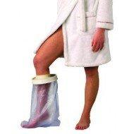 Protection de plâtre étanche adulte pour le pied, longueur 27 cm