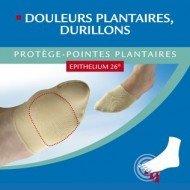 Protège pointes plantaires à l'Epithelium 26®
