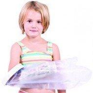 Protection de plâtre étanche enfant pour la jambe, longueur 77 cm