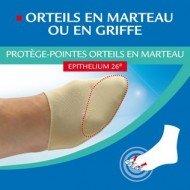 Protège-pointes orteils en marteau