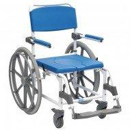 Chaise de douche / WC ASTON/ grandes roues
