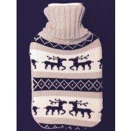 Bouillotte traditionnelle tricotée,lv medical