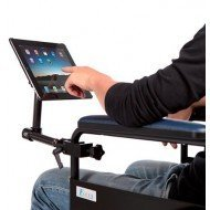 Support IPAD pour fauteuil roulant, lv medical