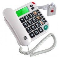 Téléphone avec télécommande SOS, lv medical